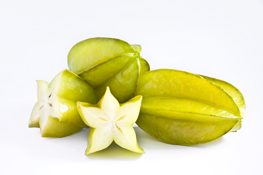 how to eat star fruit raw